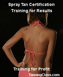 Spray Tan Training